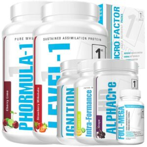 Hybrid Athlete Stack nutrition products