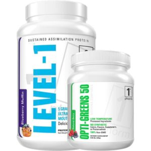 Level Up Stack nutrition products