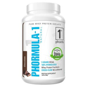 Phormula-1 Natural Whey Protein Isolate nutrition products