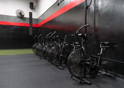Exercise bikes inside No Limit PT