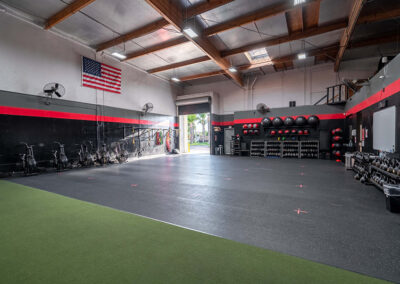 Tour of inside of No Limit PT's training facility